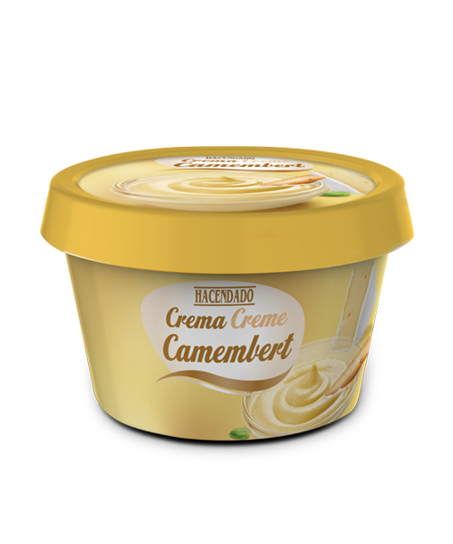 Camembert cheese cream
